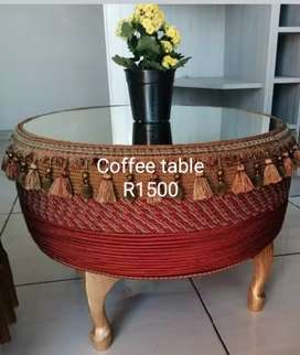 Wine tables, coffee tables, ottoman tables and chairs
