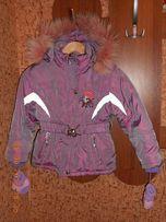 Зимняя теплая детская курточка