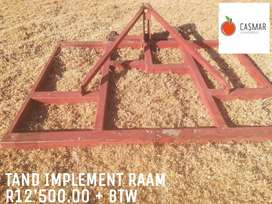 TAND IMPLEMENT RAAM