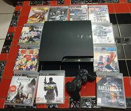 Sony PlayStation 3 Slim (320GB) and 11 Games