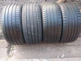 A set of tyres for Audi A4 sizes 245/40/18 Goodyear normal now availab