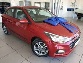 R20 000 off a brand new Hyundai i20 1.4 Fluid manual