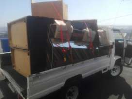 Bakkie for hire, transport, collect and deliver, garden and furniture