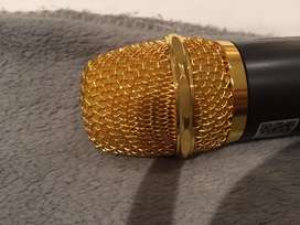 Condenser Gold Microphone amazing  quality