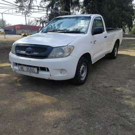 Work horse d4d km are high but bakkie an work for another 500000km