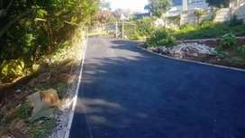 TARRING, DRIVEWAYS AND PAVING