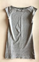 Koszulka bluzka szara w paski XS