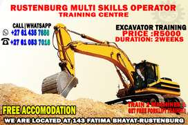 TRAINING #EXCAVATOR  ONLY AT #R5000