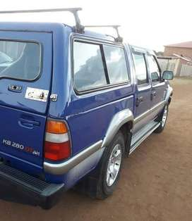 1998 Isuzu Kb 280 dtlx double cab for sale in original condition