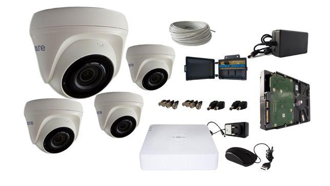 Zestaw 4 lub 8 kamer Full HD do monitoringu- kompletny zestaw! ONLINE! Wrocław - image 2
