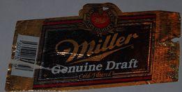 USA ETYKIETA BROWAR MILWAUKEE MILLER etykieta piwna naklejka piwo