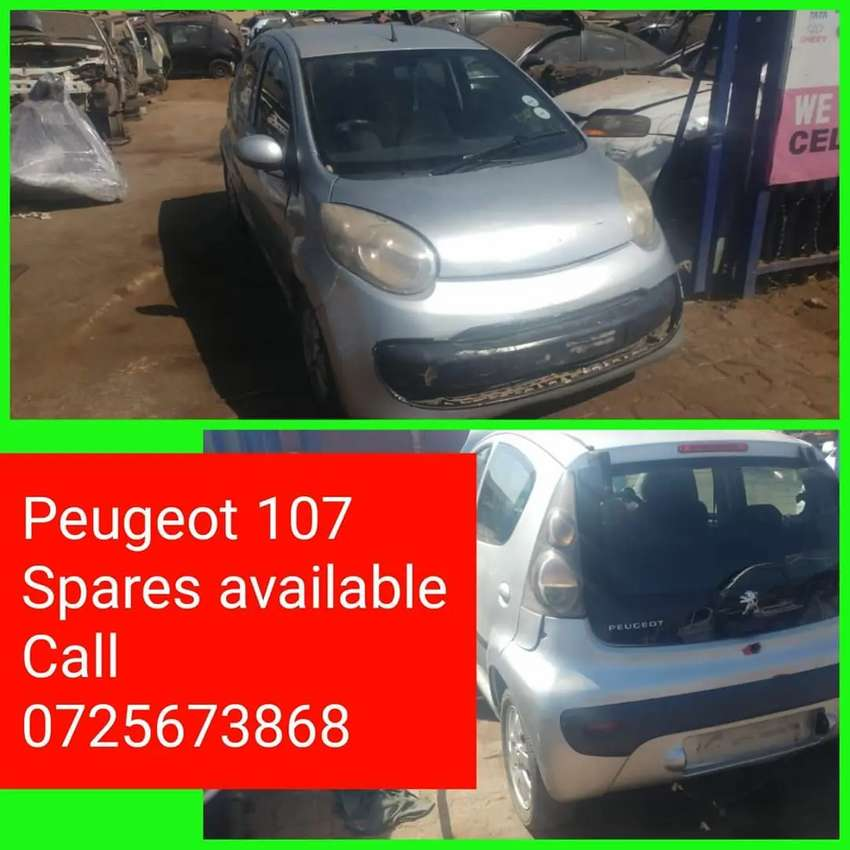 Peugeot 107 spares available call us now