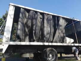8m x 2.6m truck side curtains