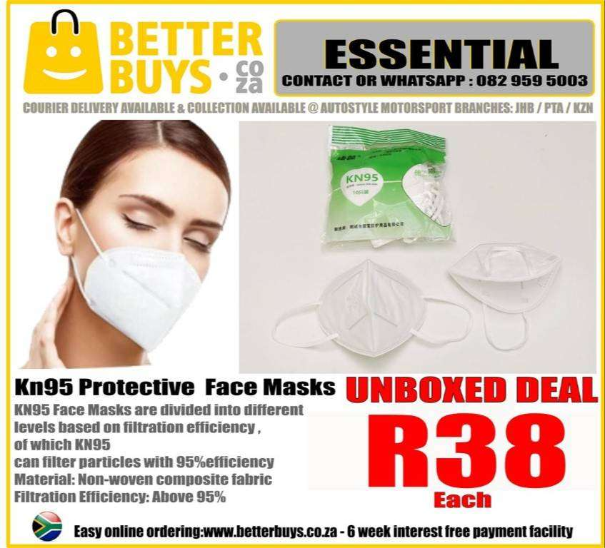 KN95 Face Masks are divided into different levels based on filtration 0