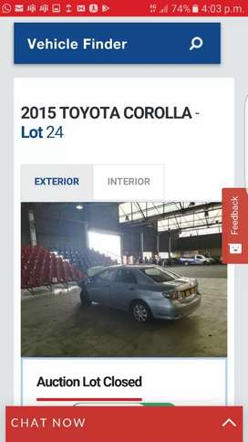 Toyota Corolla Quest  for Parts