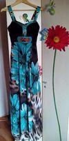 1600 руб Сарафан платье в пол длинное (на выпускной)