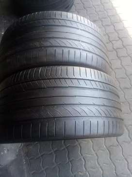 285/35/R20 continental normal tyres