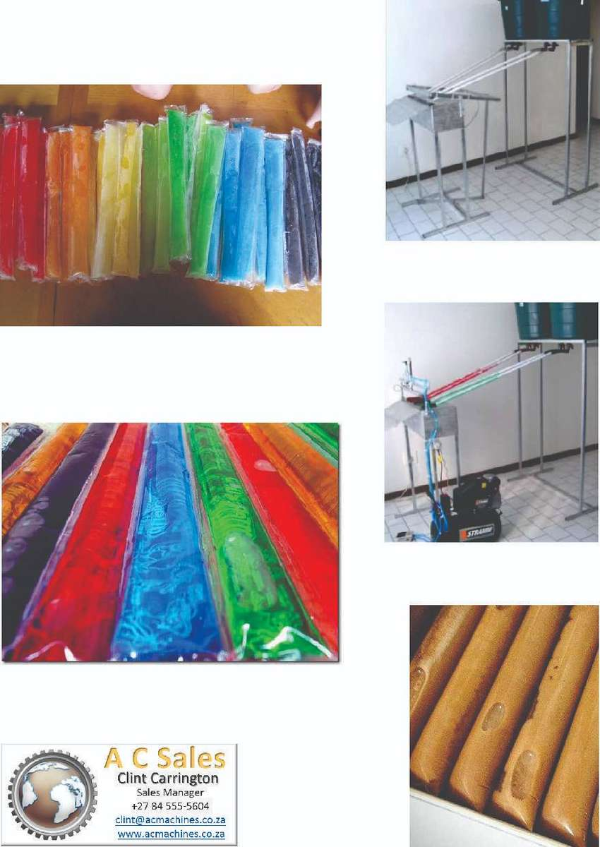 Popsicle machine / Ice lolly 0