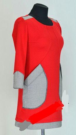 Молодёжное красное платье Запорожье - изображение 1