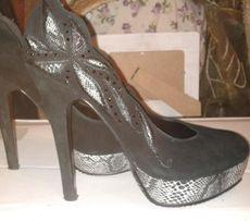Продам замшевые туфли Epiffani б/у р.36