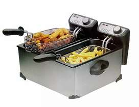 Chips fryer ND chips cutter