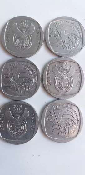 10 years of freedom R2 coins.