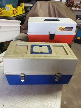 Bargain-2nd hand Angling Tackle Boxes for sale