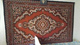 Красивый шерстяной ковер (ворсистый). Размеры: 2х3 м. Латвия