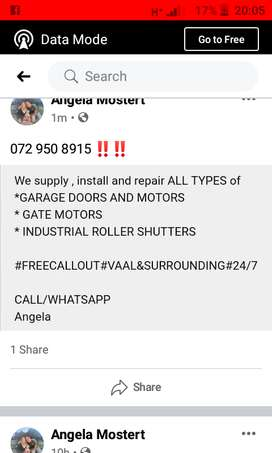 GATE motor & GARAGE door REPAIRS‼️‼️