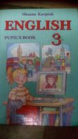 Книга English pupil's book 4