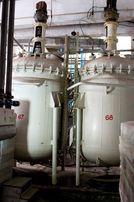 Реактор эмалированный 6,3 (4 м.куб) 10 с рубашкой обогрева/охлаждения.