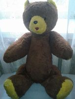 НОВЫЙ.Медведь плюшевый,65см.70-е годы.Не играный.