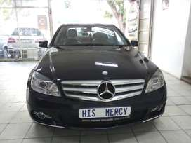 2009 MERCEDES BENZ C180 AUTOMATIC