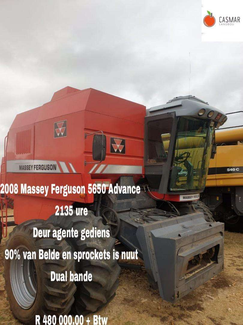 2008 Massey Ferguson 5650 advance 0