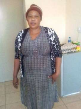 Lesotho maid and nanny with true refs needs strictly stay in work