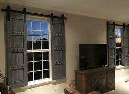 okiennice typu barn door