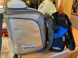 Outdoor Hidro Cooler botle and a small