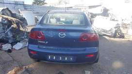 MAZDA 3 STRIPING FOR SPARES AT EDENVALE AUTO SPARES