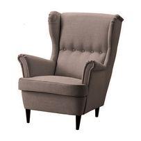 Fotel Uszak jak IKEA STRANDMON tkaniny plamoodporne. Dostawa cała PL