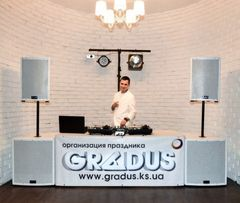 Ди-Джей DJ музыка музыкант на выпускной свадьбу корпоратив