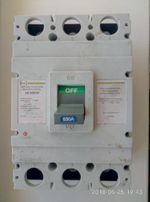 автоматический выключатель АВ 3005/3Н 630А
