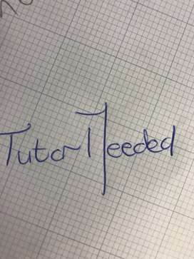Afternoon Tutor Required West Rand