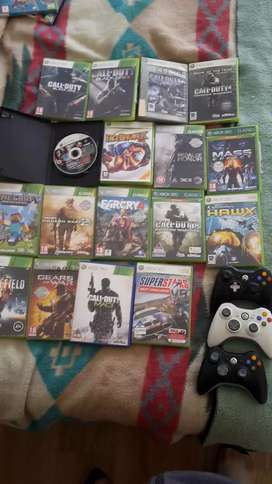 Xbox 360 games and remotes