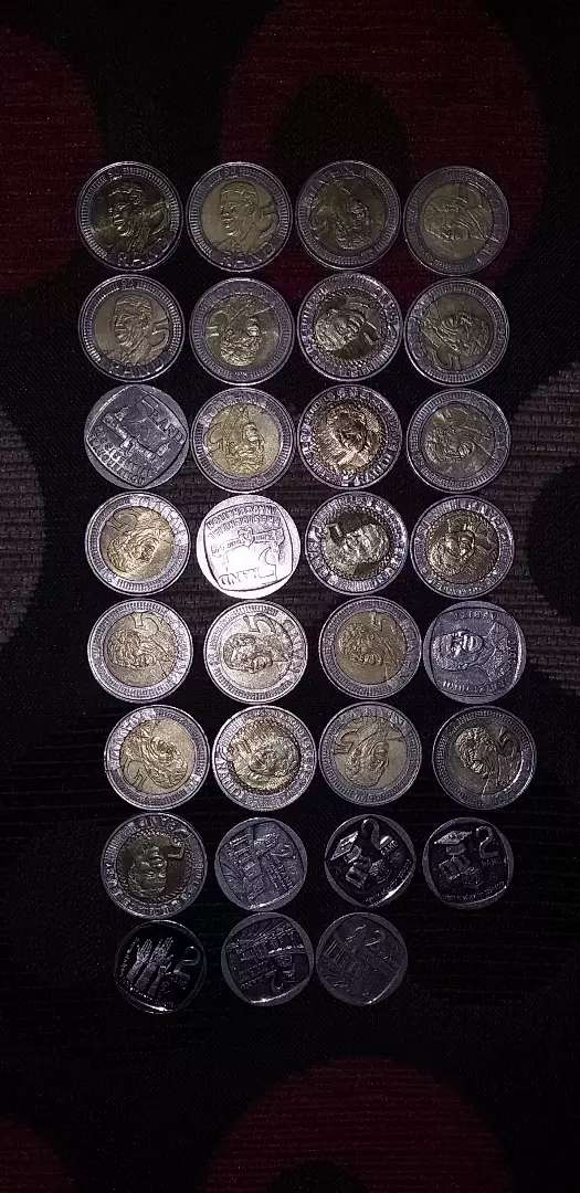 Mandela coins and old coins 0
