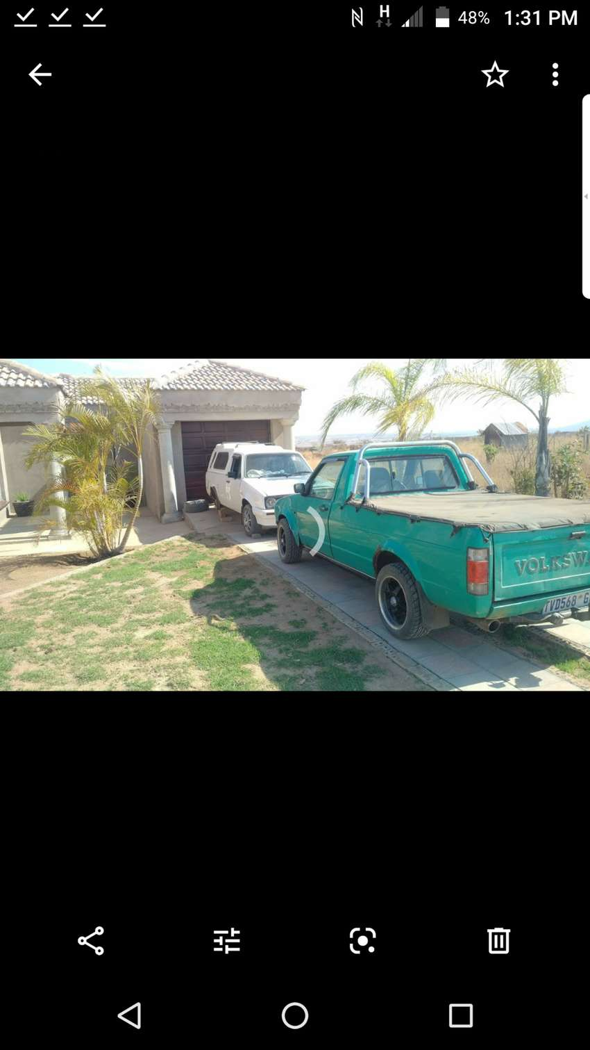 Engine and gearbox 1.6 caddy bakkie 0