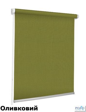 Ролети тканинні Ціна актуальна Рулонні штори Жалюзі Польша Льон Ужгород - зображення 7