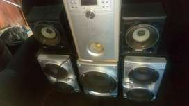 Sony speakers an sansui sub
