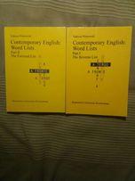 Contemporary english part I i II