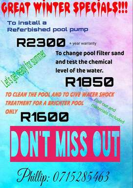 Lets get our pools looking good for summer