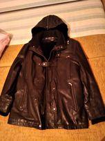 Кожаная куртка с подстежкой мужская verri Италия 50р